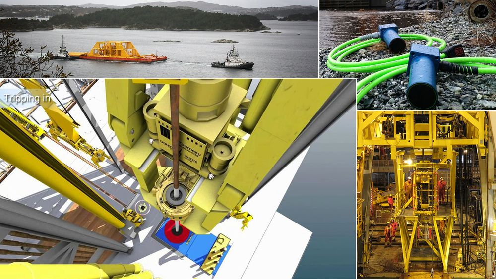 Ti forskjellige oljeteknologier er med i finalene til de to prestisjetunge prisene på årets ONS. Her er de representert ved One Subsea (øverst til venstre), WiSub (øverst til høyre), West Group og Island Offshore/Centrica.