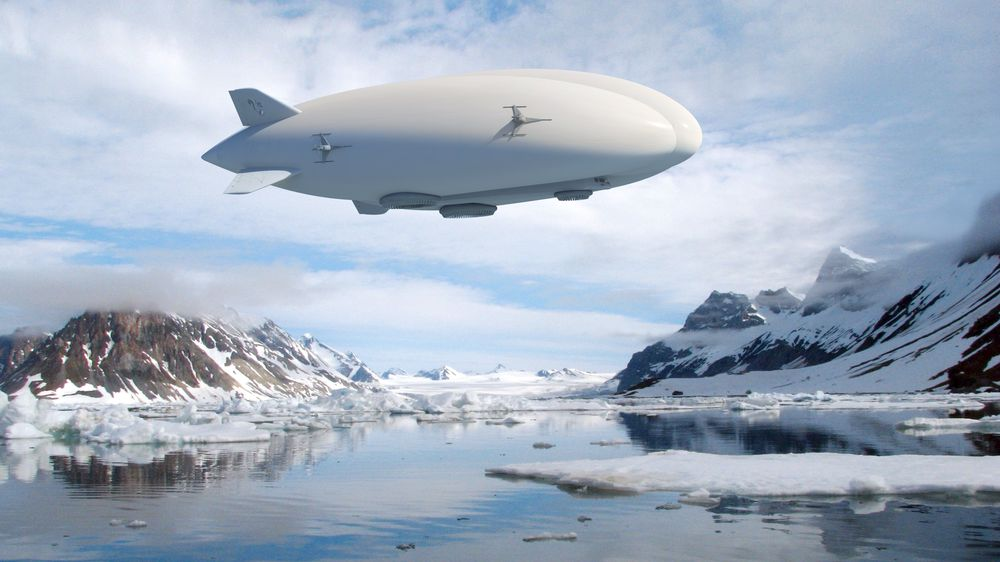 Lockheed Martins hybridluftskip designes for å frakte 21 tonn og 19 passasjerer over en distanse på 1400 nautiske mil.