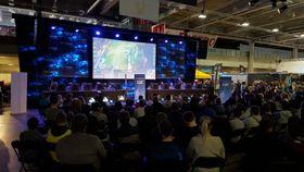 League of Legends-finalen i Telenorligaen på SpillExpo høsten 2015.