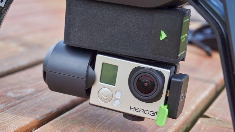 En GoPro er en høyst nødvendig bit av Solo-opplevelsen.