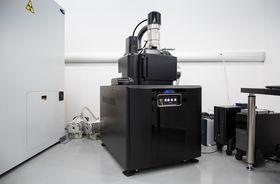 Elektronmikroskop er blant det avanserte utstyret Area 404-anlegget har å by på.