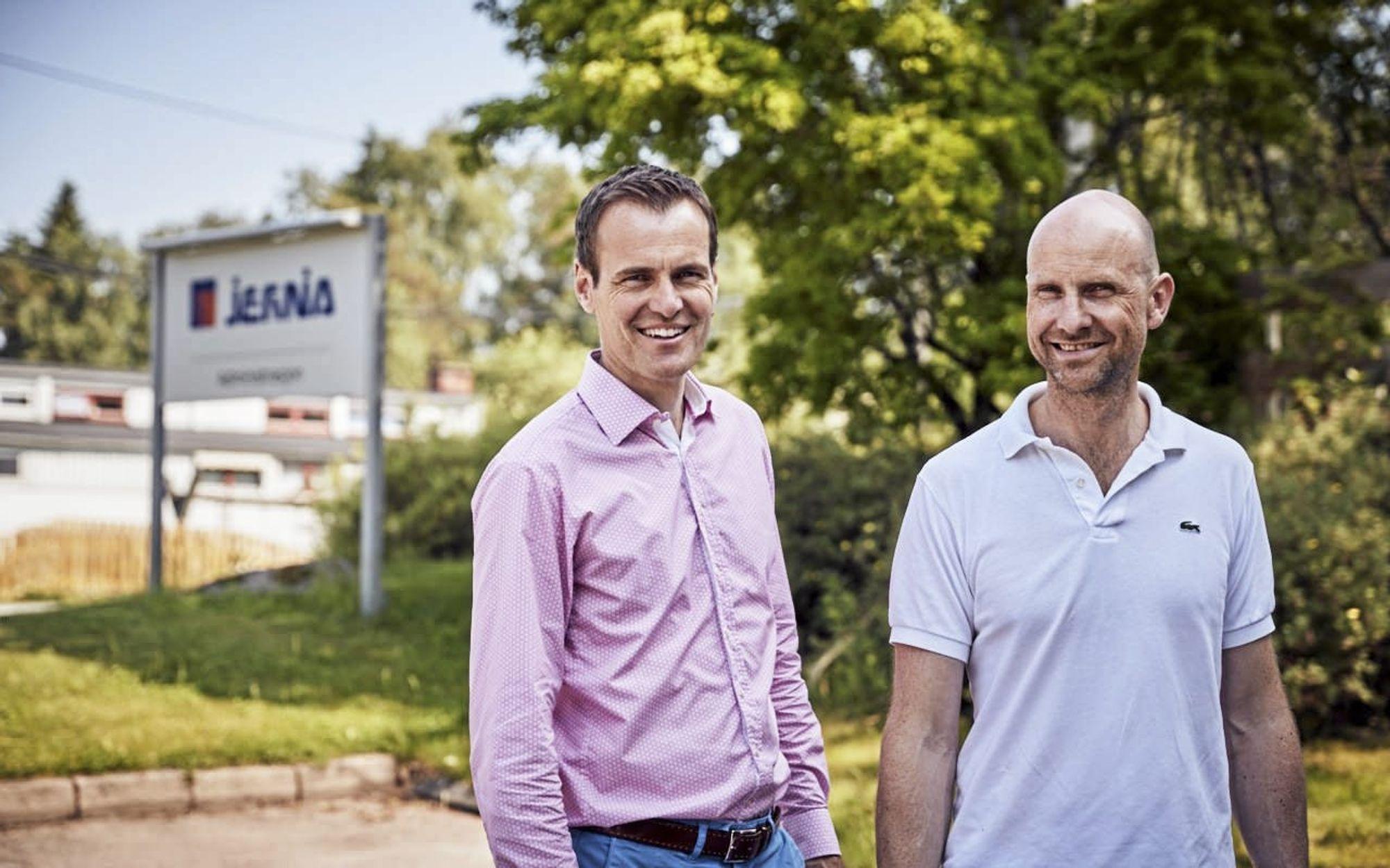 NYE EIERE: Loe Utvikling drives av Tomas J. Tenden og Christian Kulberg. Foto: Kristoffer Sandven.