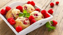 Bak disse lekre bærmuffinsene