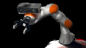 Pitsj: Zivid 3D-kamera åpner for nye muligheter innen robotikk og industriell automasjon. Robotarmer påmontert kamera kan for eksempel gripe uordnede deler fra en pall.