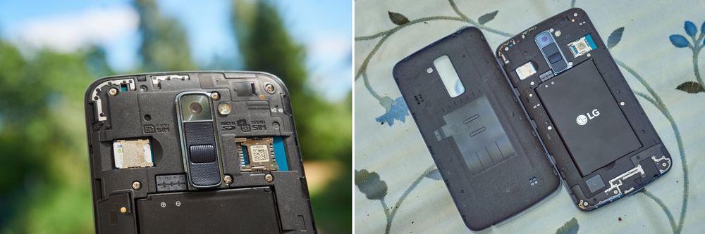De to dedikerte SIM-kort-inngangene er et solid pluss. At du kan bytte batteri det samme.