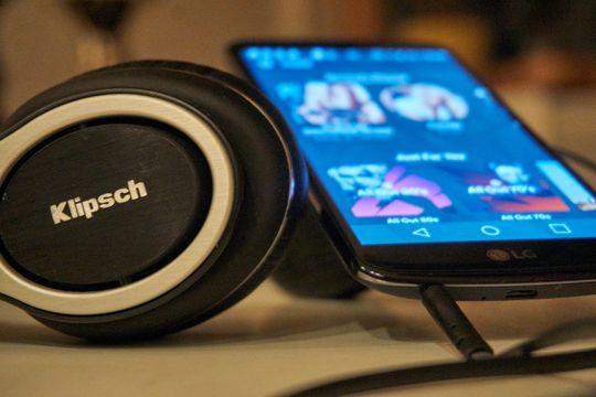 LG K10 egner seg godt til musikklytting.