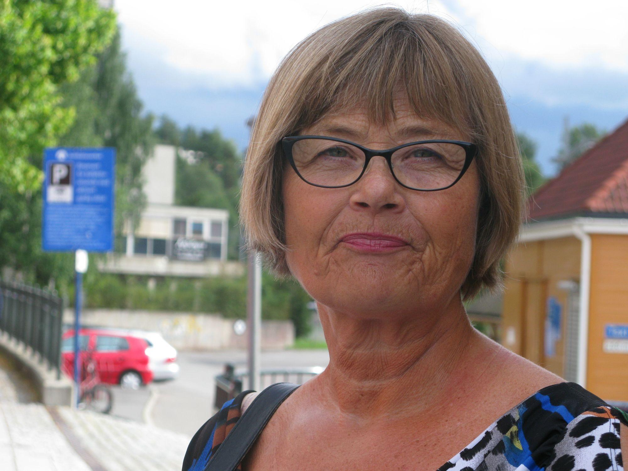 OVERRASKET: Anna Marie Knutzen mener det har gått overraskende bra under anleggsperioden.