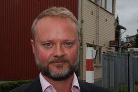 Geir Axel Oftedah, direktør for forretningsutvikling i Jotun.