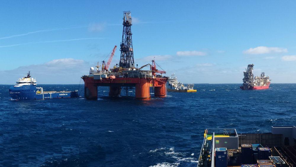 Transocean Winner var på vei fra Norge til Malta da slepet røk. Bildet er tatt tidligere.