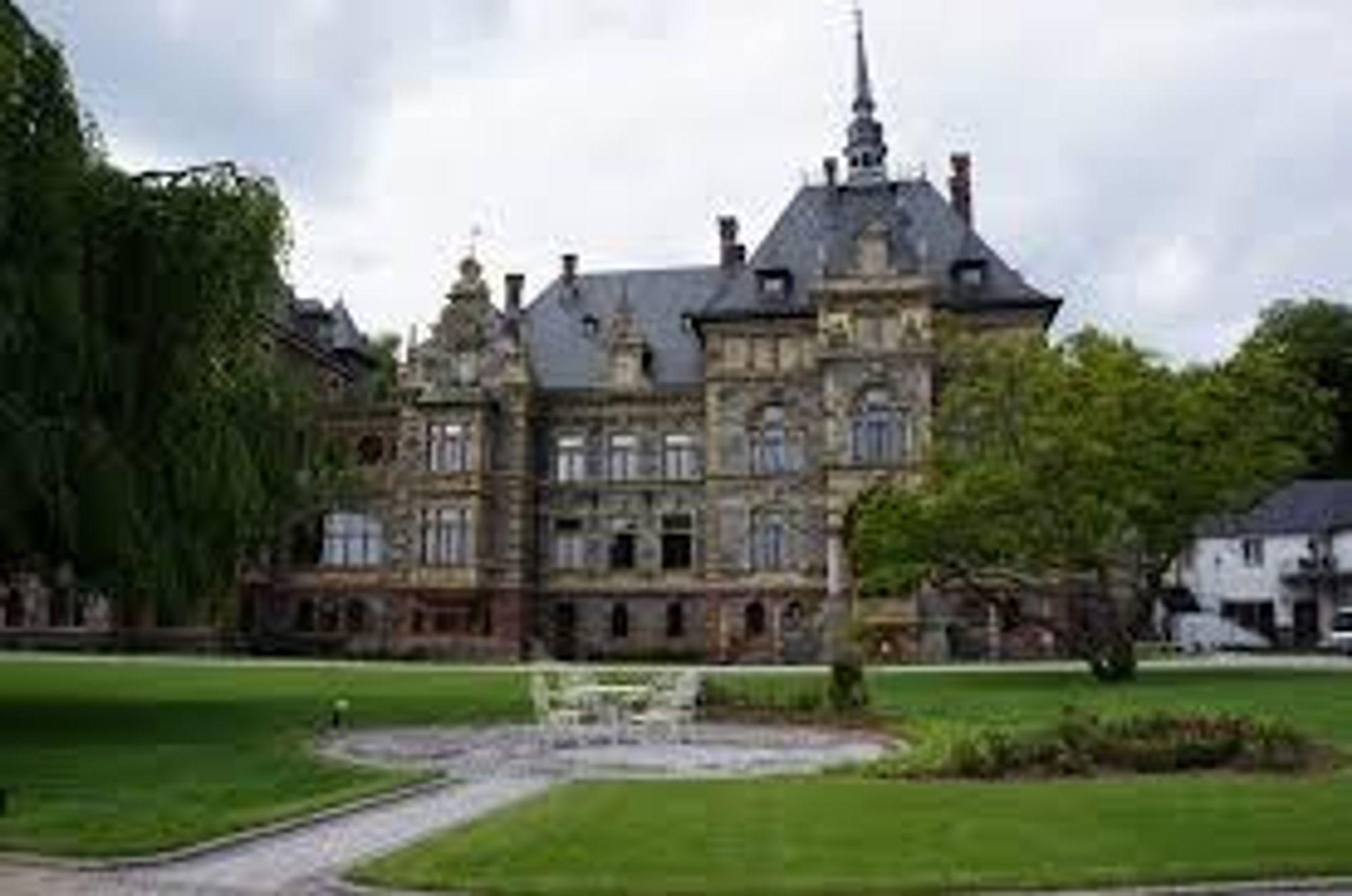 Schloss Lieser er et kjent landemerke i Mosel.