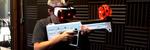 Les Dette geværet skal kunne simulere et hav av ulike våpen i VR ved hjelp av risting
