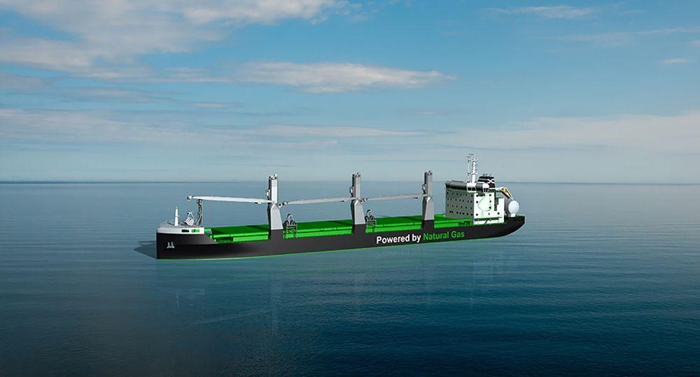 Finske ESL bestilte i november 2015 verdens to første bulkskip med gassframdrift. De blir på 25.600 dødvekttonn. Nå har koreanske Ilshin Logistics bestilt et bulkskip på 50.000 dwt med gassmotor.