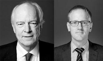 Arve Føyen og Jarle Langeland i advokatfirmaet Føyen Torkilsen AS.