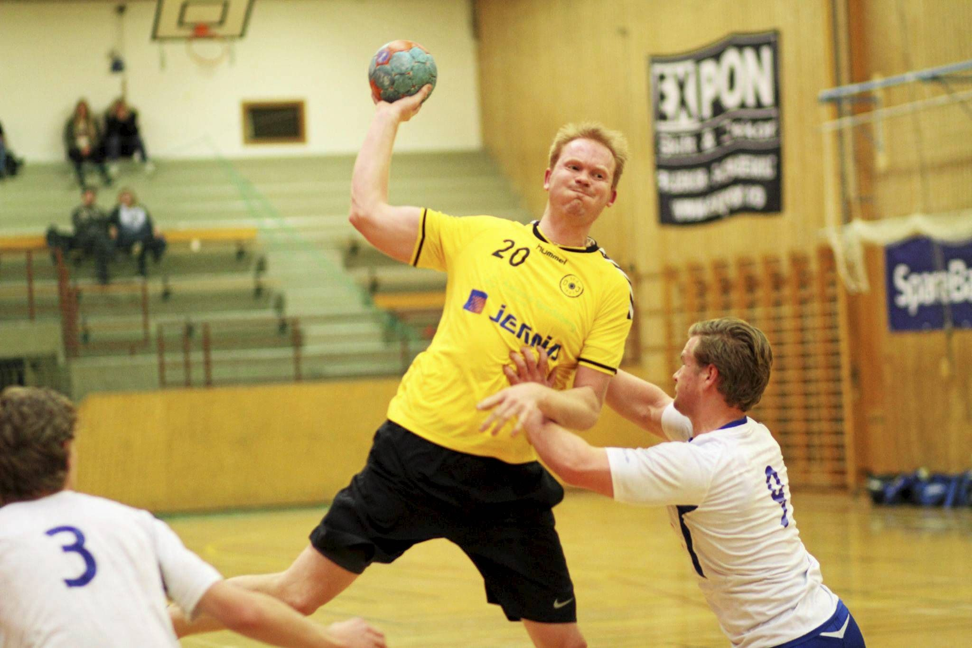 SVENSK KRIGER: Thomas Bergsten kom inn på laget i fjorårets sesong, og markerte seg på scorings-statistikken.