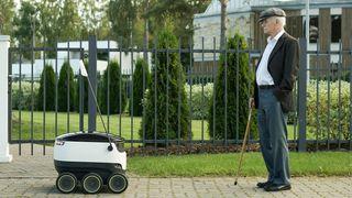 Snart rulles bud-roboter ut i europeiske byer