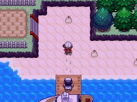 Ligner veldig på de gamle Pokémon-spillene.