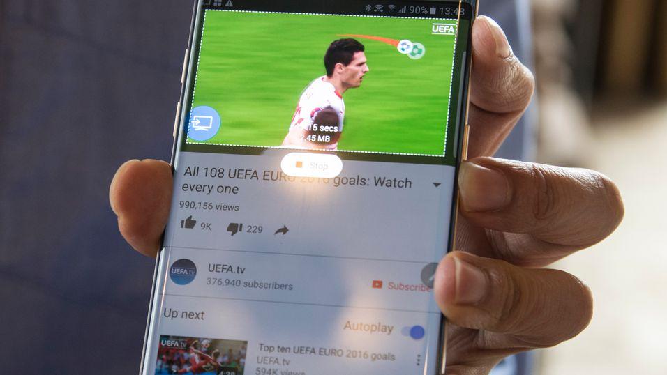 Galaxy Note 7 skal ha den beste mobilskjermen på markedet.