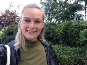 Amalie Harestad håper situasjonen i bransjen har tatt seg opp og stabilisert seg når hun er ferdig med studiene på UiS.