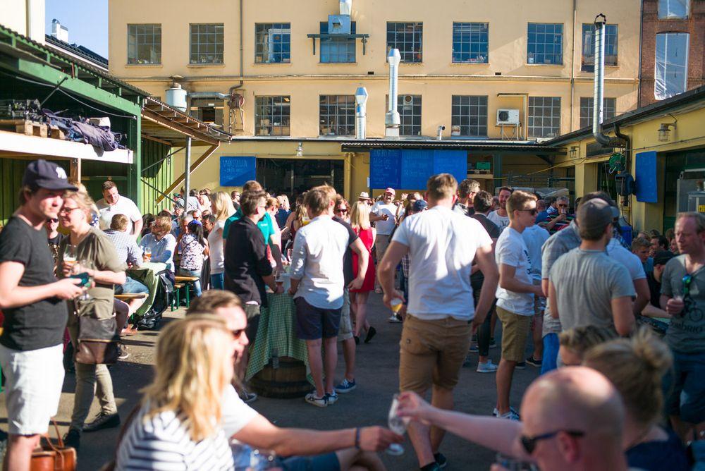 Fra Oslo Mikrobryggfestival i juni 2016.