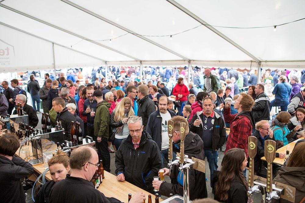 Bryggerifestivalen i Trondheim ble en stor suksess.