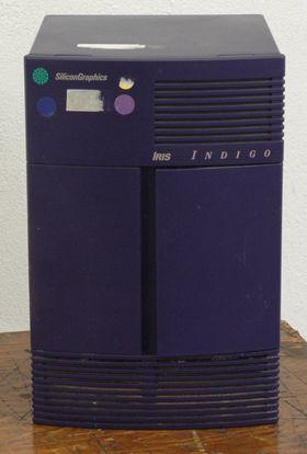 SGI IRIS Indigo arbeidsstasjon fra tidlig 1990-tall.
