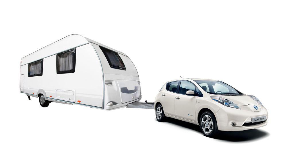Campingferie med elbil ligger nok fortsatt et stykke inn i fremtiden for de aller fleste.