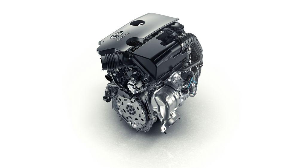 Nissans nye motor med variabel kompresjonsteknologi blir først å se i en Infiniti-modell som skal vises frem på bilmessen i Paris i oktober.