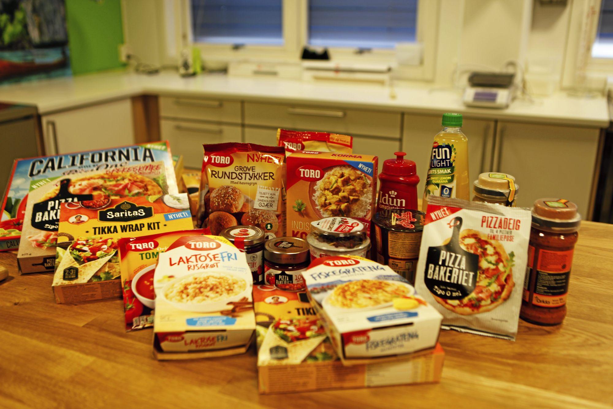 KJENTE PRODUKTER: Mange av Orklas produkter er i daglig bruk i mange Oppegård-hjem.