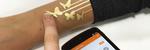 Les Denne «tatoveringen» kan brukes til å styre mobilen din