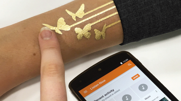 Denne «tatoveringen» kan brukes til å styre mobilen din