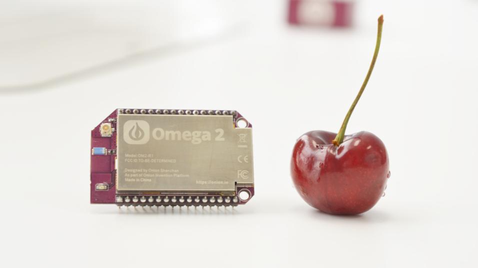 Den nye Raspberry Pi Zero-konkurrenten Omega2.