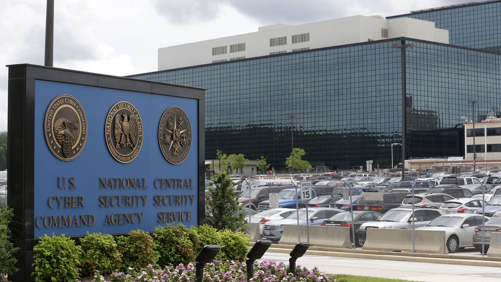 Fort Meade, hovedkontoret til blant annet NSA.