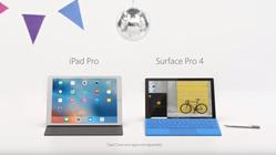 Her gjør Microsoft narr av Apples nye iPad Pro-reklame