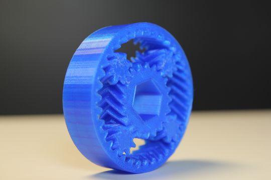 Planetary Gears med roterende tannhjul.