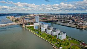 Det nye campus til Cornell Tech University er et av initiativene som skal gjøre New York til en digital hovedstad.