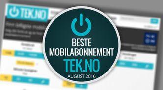 Vi kårer månedens  beste  mobilabonnementer