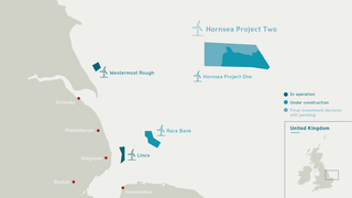 Får lov til å bygge 300 vindturbiner i Nordsjøen