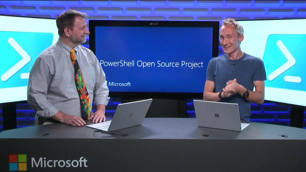 Microsoft presenterte i går åpen kildekodeprosjektet PowerShell.
