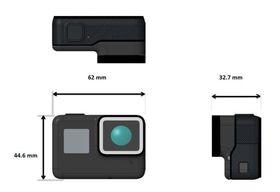 Kameraet ligner på tidligere modeller, men med noen forskjeller.