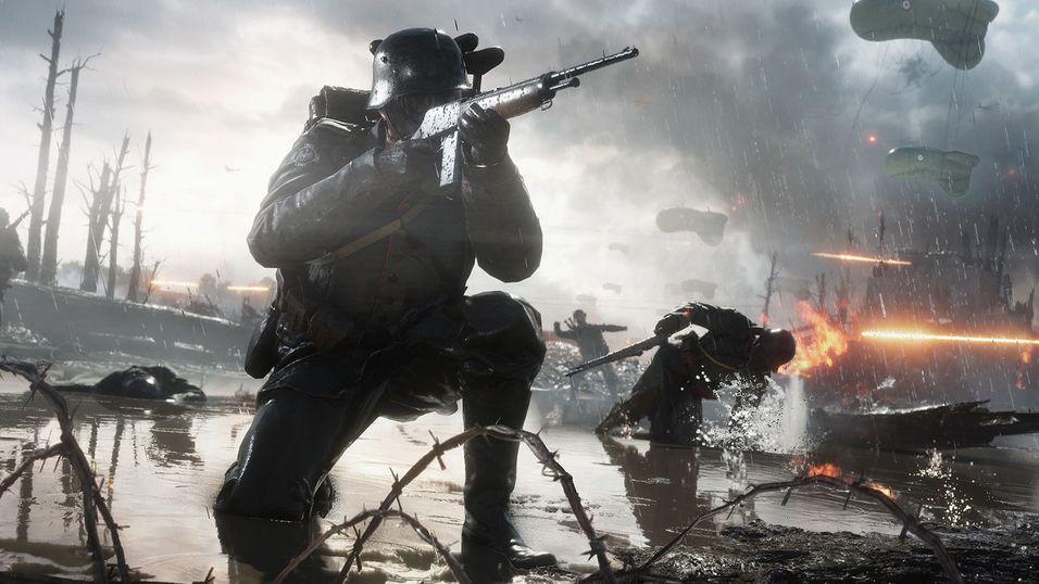 Slik påvirker været spillingen i Battlefield 1