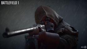 Skarpskyttere vil få det mye vanskeligere i regnvær i Battlefield 1.