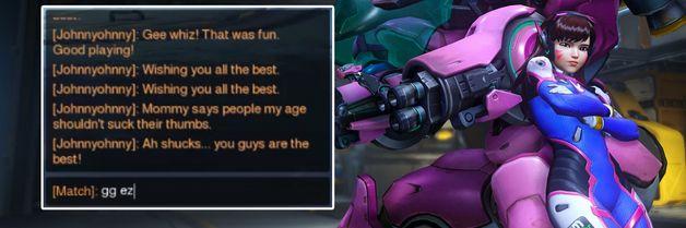 Her leker Blizzard med Overwatch-chattens mest sarkastiske skrytepaver