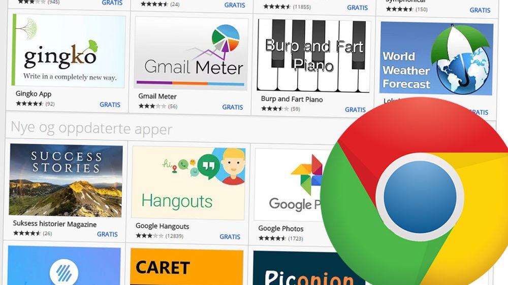 Chrome-støtten for apper fra Chrome Web Store skal fjernes helt innen halvannet år. Det eneste unntaket er på Chrome OS-baserte enheter.