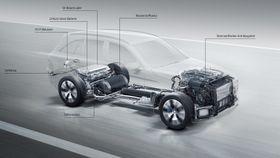Daimlers nye brenselcellesystem lanseres i GLC i 2017.