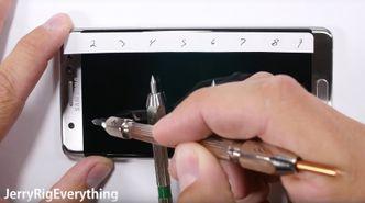 Tester viser at Note 7-skjermen får lettere riper enn iPhone