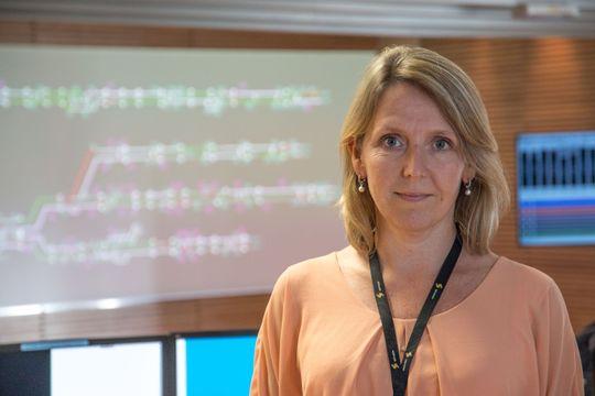 Irene Måsøval er utbyggingssjef i Sporveien.
