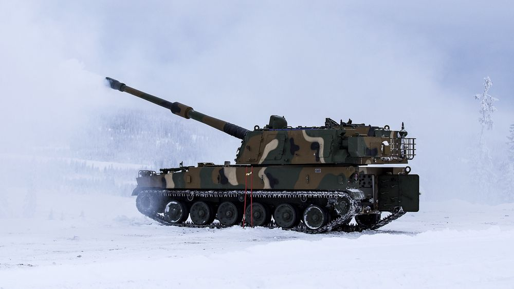 K9 Thunder på besøk på Regionfelt Østlandet.