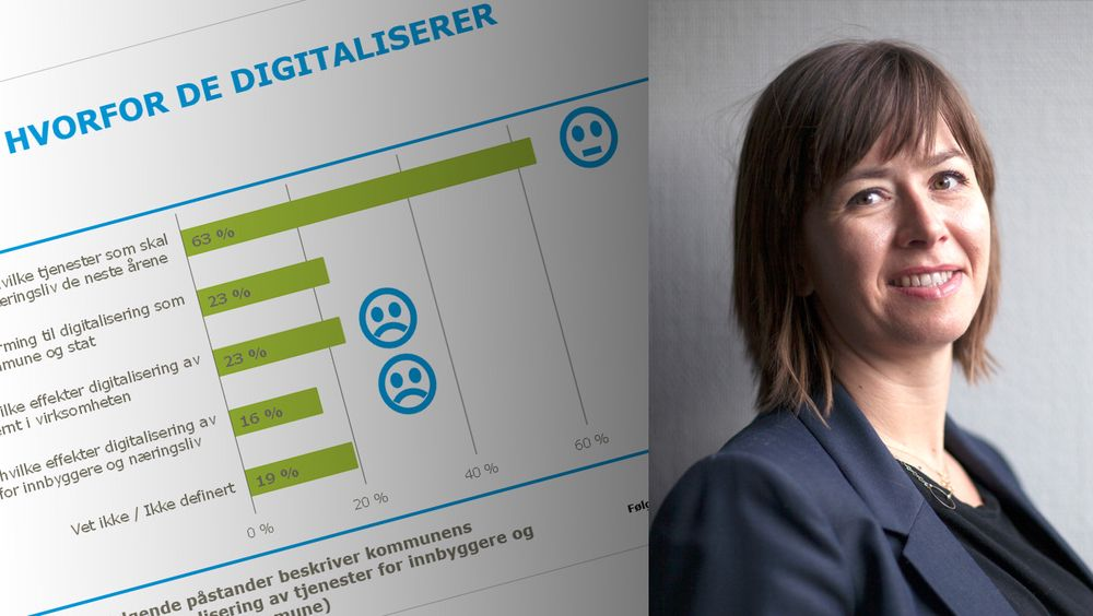 Kommunene digitaliserer, men aner ikke gevinsten. Det er et rop om hjelp, mener IKT-Norges Heidi Austlid.