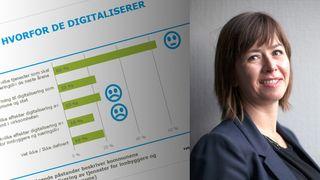 Norske kommuner vil gjerne digitalisere, men aner ikke hva slags gevinster det kan gi