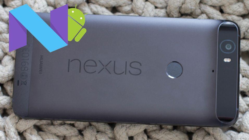 Her er telefonene som får Android 7 Nougat